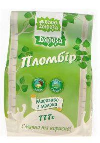 """Пломбир """"Белая бяроза"""" 3 молока"""